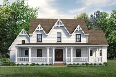 Chesapeake Single Family Home For Sale: Mm Caroline At Beaver Dam Estates
