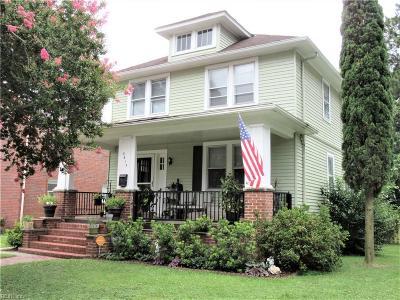 Norfolk Single Family Home New Listing: 3615 Orange St