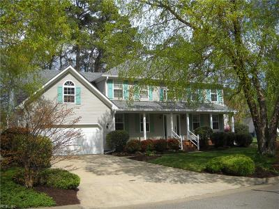 Virginia Beach Single Family Home New Listing: 1117 Chipping Ct