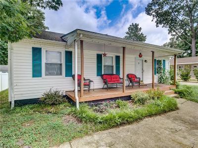 Norfolk Single Family Home New Listing: 321 Honaker Ave