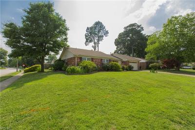 Virginia Beach Single Family Home New Listing: 5429 Brockie St