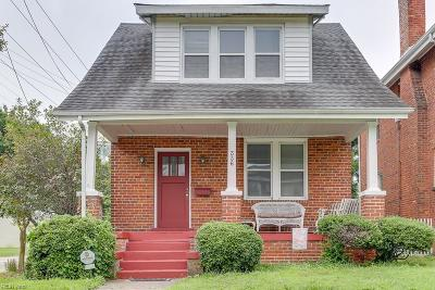 Newport News Single Family Home New Listing: 336 62nd St