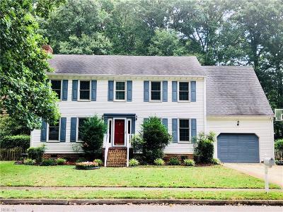 Chesapeake Single Family Home New Listing: 1017 Ramsgate Ln