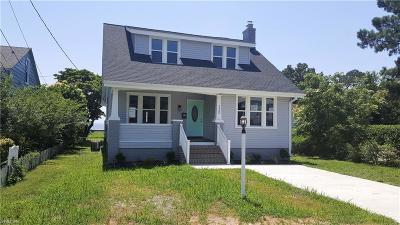 Hampton Single Family Home New Listing: 720 Blair Ave