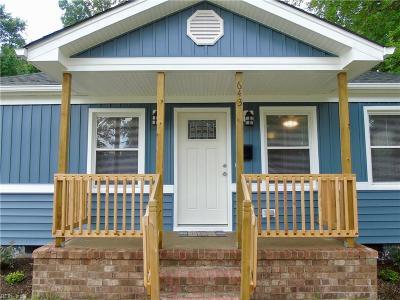 Hampton Single Family Home New Listing: 643 Bell St