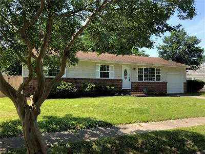 Norfolk Single Family Home New Listing: 4805 Dolphin Ave