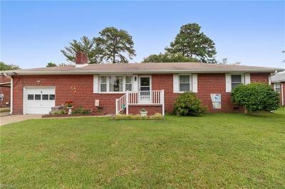 Norfolk Single Family Home New Listing: 222 Faulk Rd