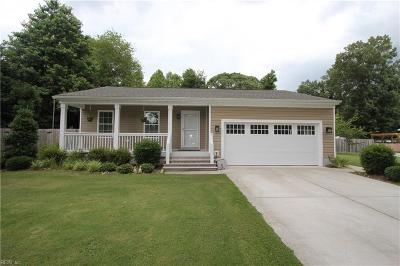 Chesapeake Single Family Home New Listing: 445 Dupont St