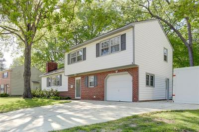 Newport News Single Family Home New Listing: 121 Lynn Dr