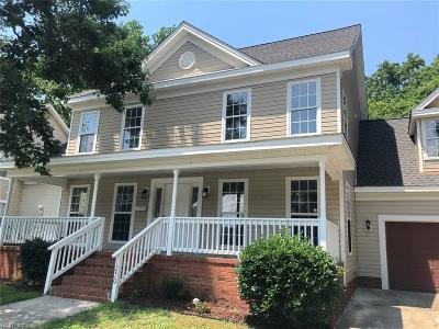 Norfolk Single Family Home New Listing: 1250 W 27th St