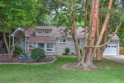 Virginia Beach Single Family Home New Listing: 1030 Old Dam Neck Rd