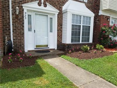 Virginia Beach Single Family Home New Listing: 925 Westwind Pl