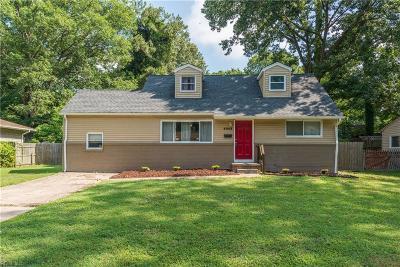 Virginia Beach Single Family Home New Listing: 4948 Erskine St