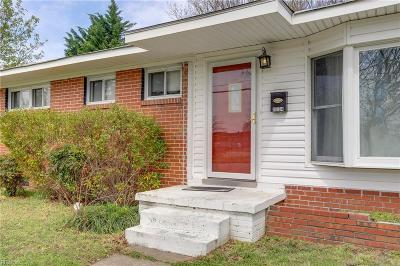 Norfolk Single Family Home New Listing: 2734 Dominion Ave
