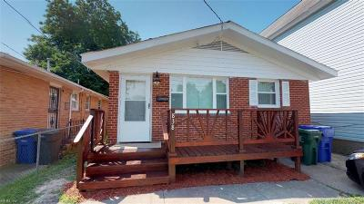 Newport News Single Family Home New Listing: 838 24th St