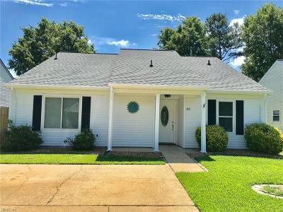 Virginia Beach Single Family Home New Listing: 2021 Ealing Cres