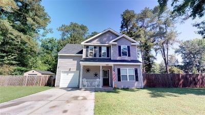 Chesapeake Single Family Home New Listing: 300 Fleming Cir