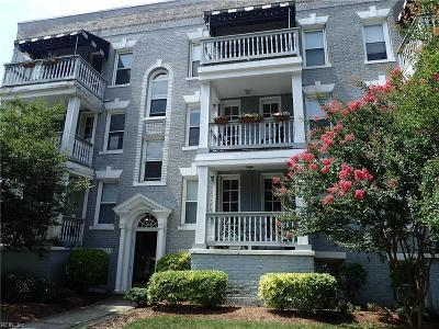 Norfolk Single Family Home New Listing: 1017 Westover Ave #7