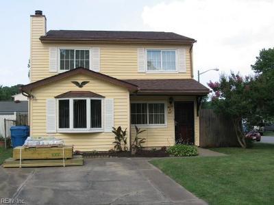 Virginia Beach Single Family Home New Listing: 1108 Rebel Run Court Ct