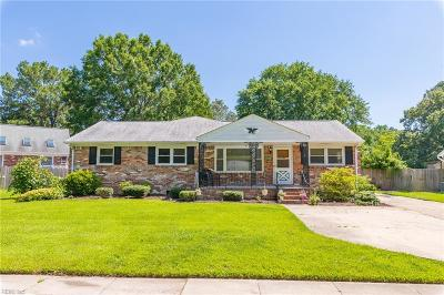 Chesapeake Single Family Home New Listing: 4404 Greendell Rd