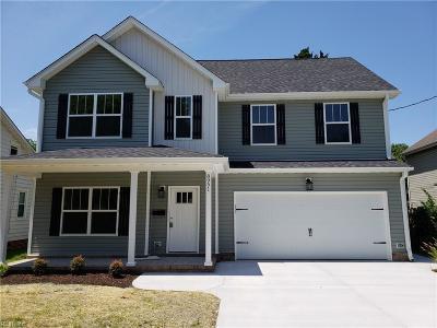 Hampton Single Family Home For Sale: 2826 Rosalee Dr