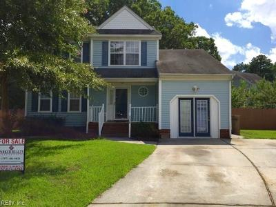 Norfolk Single Family Home For Sale: 900 Elm Ct