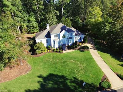 Williamsburg Single Family Home For Sale: 2520 Sanctuary Dr