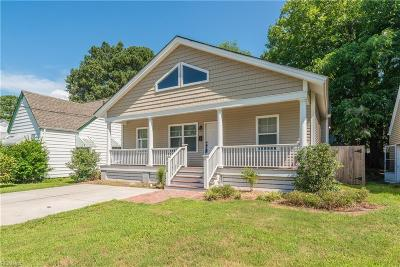 Norfolk Single Family Home For Sale: 1320 Melrose Pw