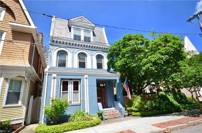Norfolk Single Family Home For Sale: 727 Yarmouth St
