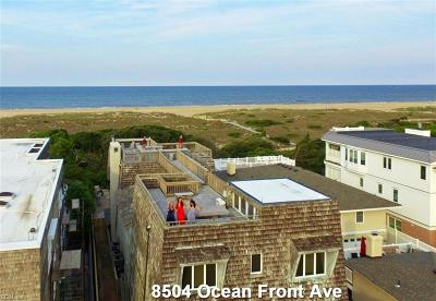 Virginia Beach Single Family Home For Sale: 8504 Ocean Front Ave