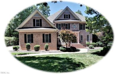 Williamsburg Single Family Home For Sale: 209 Heritage Pointe