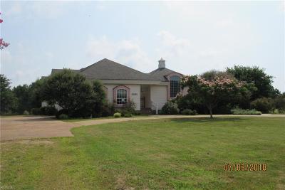 Cape Charles Single Family Home For Sale: 22203 Verlinda Lndg S
