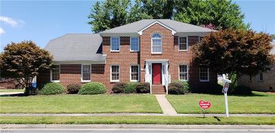 Western Branch Single Family Home For Sale: 4108 Lakeview Dr