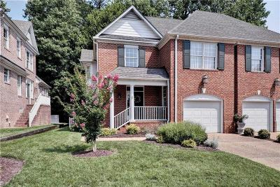 Williamsburg Single Family Home Under Contract: 128 Exmoor Ct