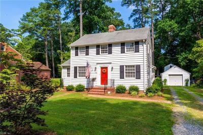 Newport News Single Family Home Under Contract: 113 Villa Rd