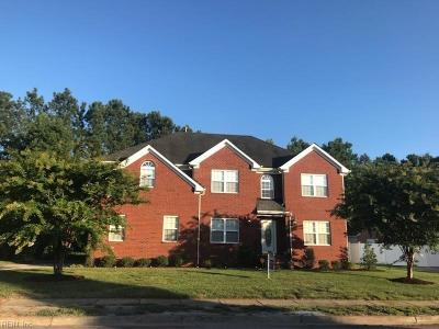 Western Branch Single Family Home For Sale: 4448 Old Woodland Dr
