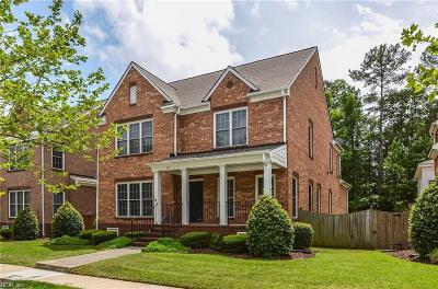 Newport News Single Family Home For Sale: 345 Herman Melville Ave