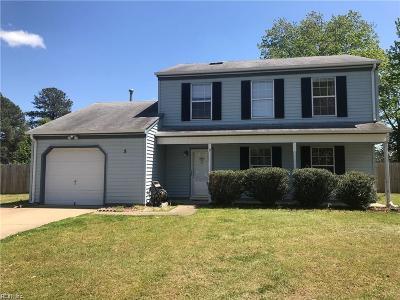 Hampton Single Family Home For Sale: 5 Longleaf Ct