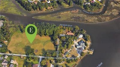 Chesapeake Single Family Home For Sale: Lot 10 Elizabeth Pl