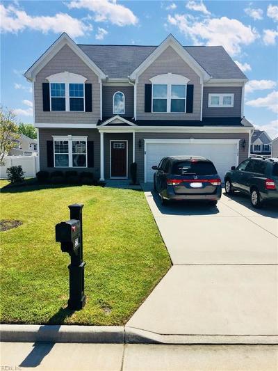 Newport News Single Family Home For Sale: 528 Loggerhead Dr