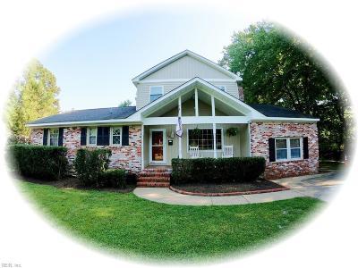 Newport News Single Family Home New Listing: 532 Burcher Rd