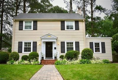 Newport News Single Family Home For Sale: 44 Stratford Rd