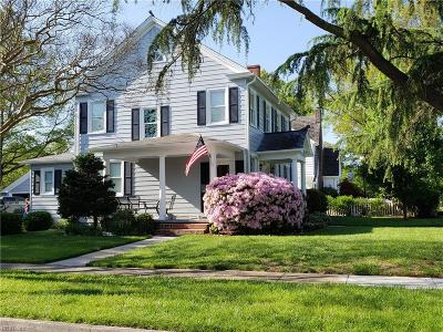 Norfolk Single Family Home For Sale: 6614 Granby St