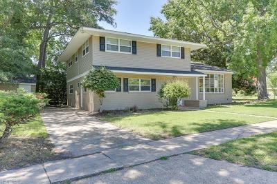 Norfolk Single Family Home For Sale: 7471 Millbrook Rd