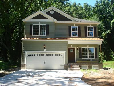 Hampton Single Family Home Under Contract: 507 Homeland St