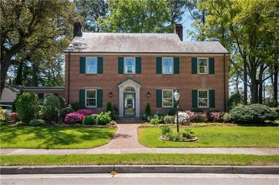 Norfolk Single Family Home For Sale: 511 Talbot Hall Rd