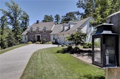 Williamsburg Single Family Home Under Contract: 3116 Nathaniels Green Dr