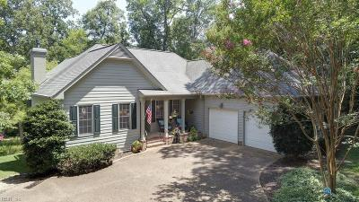 Williamsburg Single Family Home New Listing: 125 Harbour Town