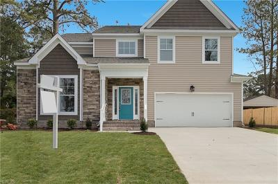 Suffolk Single Family Home New Listing: 532 W Riverview Dr