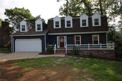 Newport News Single Family Home For Sale: 975 Lacon Dr